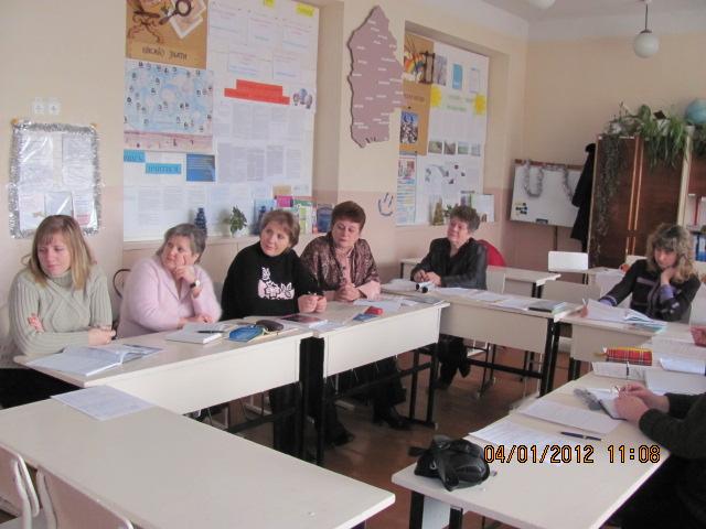 План роботи методичного об'єднання вчителів географії та економіки